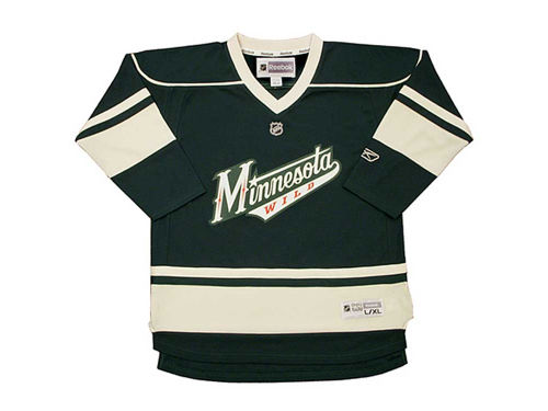 Minnesota Wild Outerstuff NHL Youth Replica Jersey