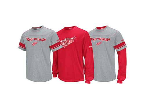 Detroit Red Wings Outerstuff NHL Youth 3-in-1 Option T-Shirt