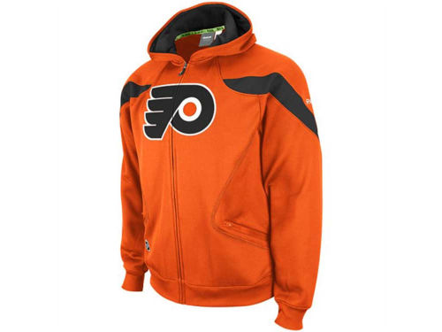 Philadelphia Flyers Outerstuff NHL Youth Momentum Full Zip Hoodie