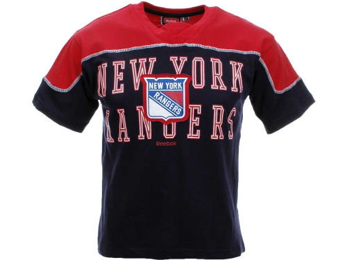 New York Rangers Outerstuff NHL Youth Neutral Zone T-Shirt