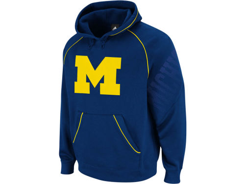 Michigan Wolverines NCAA Hoops Pullover Hood