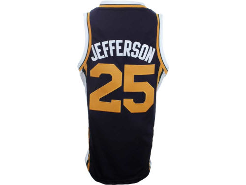 Utah Jazz Al Jefferson Outerstuff NBA Revolution 30 Swingman Jersey