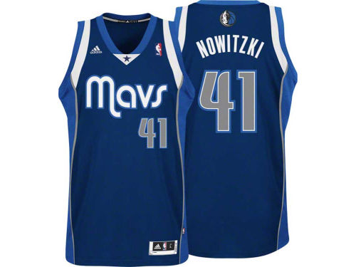 Dallas Mavericks Dirk Nowitzki Outerstuff NBA Revolution 30 Swingman Jersey