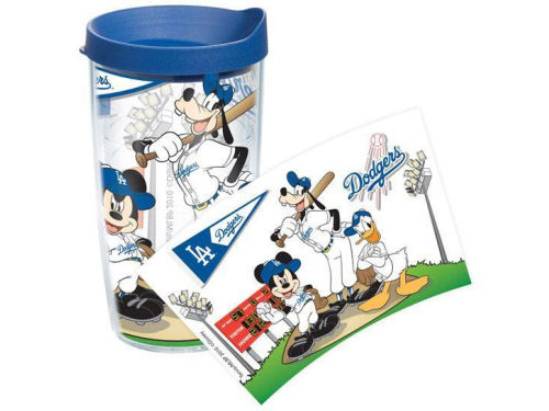 Los Angeles Dodgers Tervis Tumbler 16oz Disney Tumbler with Lid