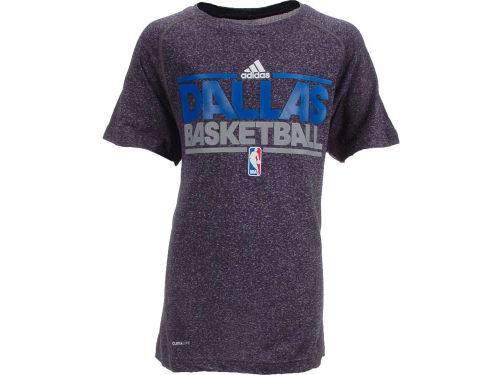 Dallas Mavericks Outerstuff NBA Youth Heathered Practice T-Shirt