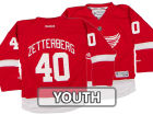 Detroit Red Wings Henrik Zetterberg Reebok NHL CN Youth Replica Player Jersey Jerseys