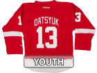 Detroit Red Wings Pavel Datsyuk Reebok NHL CN Youth Replica Player Jersey Jerseys