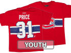 Montreal Canadiens Carey Price Outerstuff Canada NHL CN Youth Player T-Shirt T-Shirts