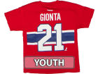 Montreal Canadiens Brian Gionta Outerstuff Canada NHL CN Youth Player T-Shirt T-Shirts
