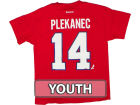 Montreal Canadiens Tomas Plekanec Outerstuff Canada NHL CN Youth Player T-Shirt T-Shirts