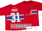 Montreal Canadiens Carey Price Outerstuff Canada NHL CN Kids Player T-Shirt Jerseys
