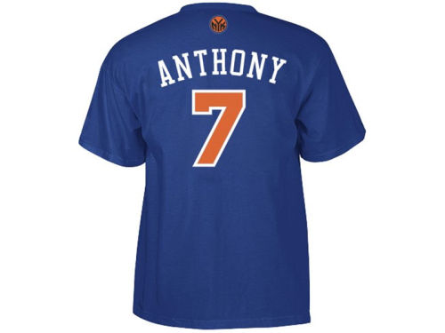 New York Knicks Carmelo Anthony adidas NBA Toddler Player T-Shirt