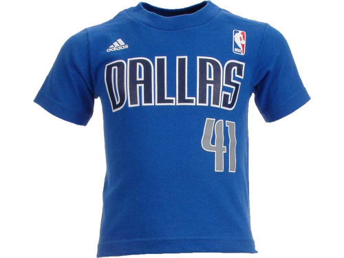 Dallas Mavericks Dirk Nowitzki Outerstuff NBA Toddler Player T-Shirt