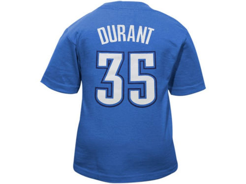 Oklahoma City Thunder Kevin Durant Outerstuff NBA Toddler Player T-Shirt