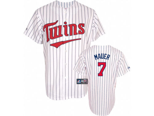 Minnesota Twins Joe Mauer Majestic MLB Player Replica Jersey