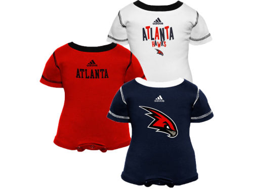 Atlanta Hawks Outerstuff NBA Infant 3pc Bodysuit Set