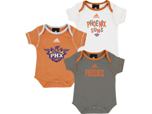 Phoenix Suns Outerstuff NBA Infant 3pc Bodysuit Set
