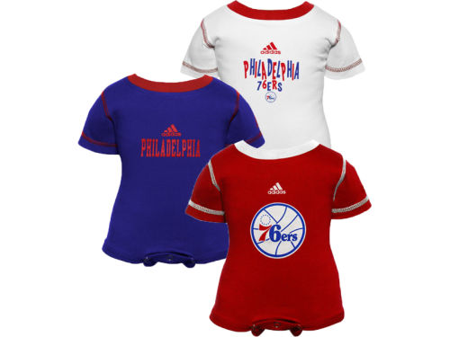 Philadelphia 76ers Outerstuff NBA Infant 3pc Bodysuit Set