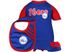Philadelphia 76ers Outerstuff Newborn Bib & Bootie Set Newborn & Infant