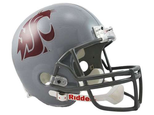 Washington State Cougars Riddell NCAA Deluxe Replica Helmet