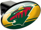 Minnesota Wild Plastic Hitch Cover Auto Accessories
