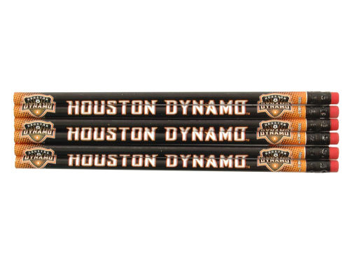Houston Dynamo Wincraft 6-pack Pencils
