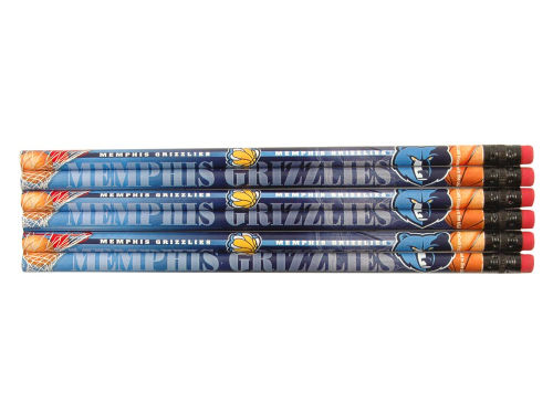 Memphis Grizzlies Wincraft 6 Pack Pencils