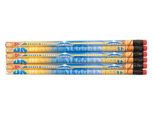 Denver Nuggets Wincraft 6 Pack Pencils
