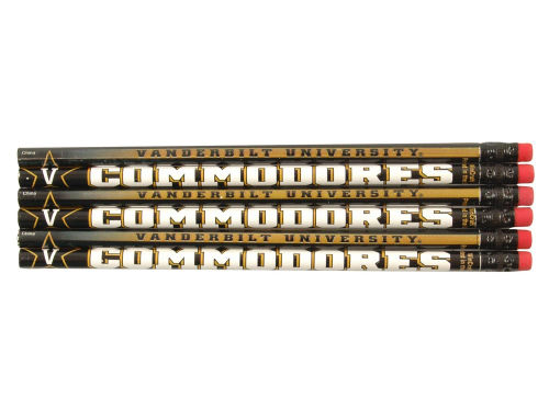 Vanderbilt Commodores Wincraft 6 Pack Pencils