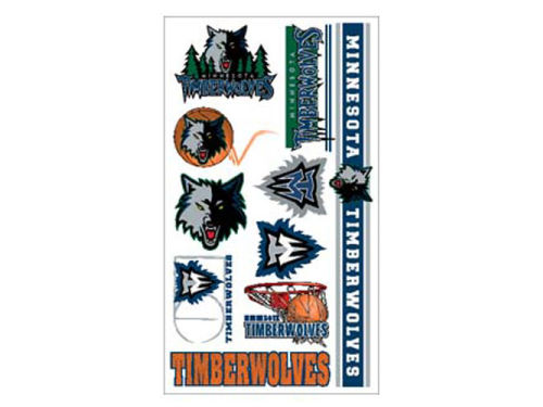 Minnesota Timberwolves Wincraft Temporary Tattoos