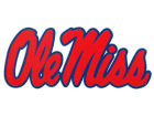 Mississippi Rebels Vinyl Decal Auto Accessories