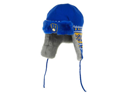 Milwaukee Brewers MLB Team Trapper Hats