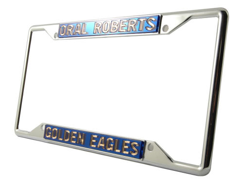 Oral Roberts Golden Eagles Laser Frame