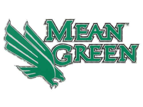 North Texas Mean Green Vinyl Decal