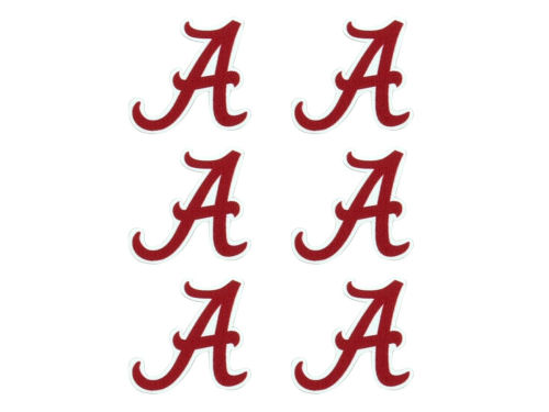 Alabama Crimson Tide Face Decals