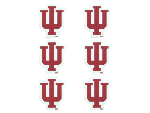 Indiana Hoosiers Face Decals