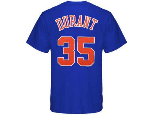 Oklahoma City Thunder Kevin Durant Profile NBA Youth Name And Number T-Shirt