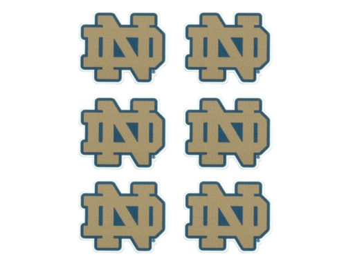 Notre Dame Fighting Irish Face Decals