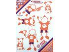 Clemson Tigers Family Decal 6pk Auto Accessories