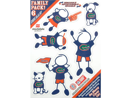 Florida Gators Family Decal 6pk