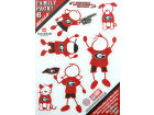 Georgia Bulldogs Family Decal 6pk Auto Accessories