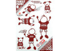 Mississippi State Bulldogs Family Decal 6pk Auto Accessories