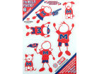 Mississippi Rebels Family Decal 6pk Auto Accessories