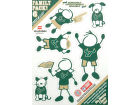 South Florida Bulls Family Decal 6pk Auto Accessories