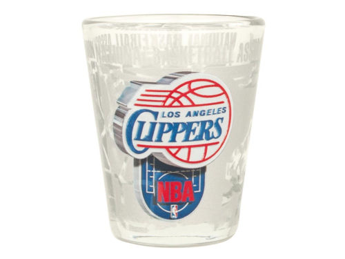 Los Angeles Clippers 3D Wrap Collector Glass