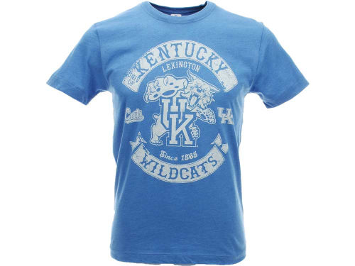Kentucky Wildcats NCAA Heathered Rockers T-Shirt
