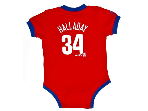 Philadelphia Phillies Roy Halladay Franco MLB Infant Name and Number Creeper