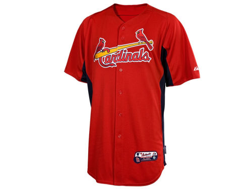 St. Louis Cardinals Majestic MLB Cool Base Batting Practice Jersey