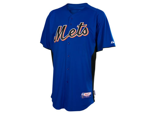 New York Mets Majestic MLB Men's Cool Base Batting Practice Jersey
