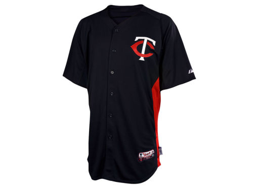 Minnesota Twins Majestic MLB Cool Base Batting Practice Jersey